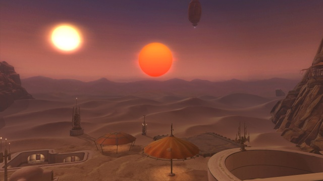 Tatooine stronghold
