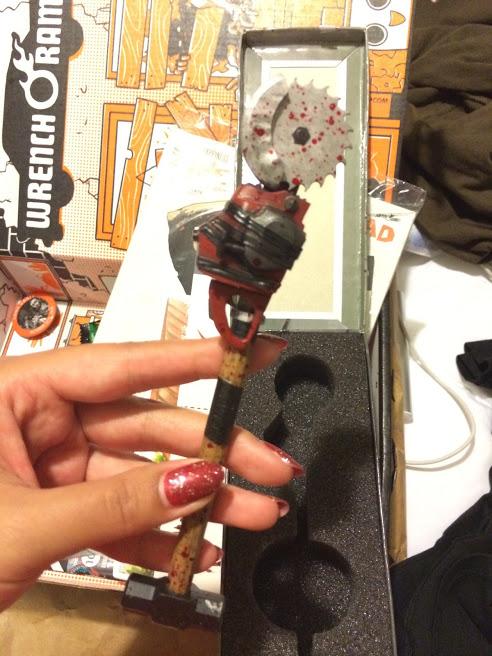Sledgesaw Hammer Pen