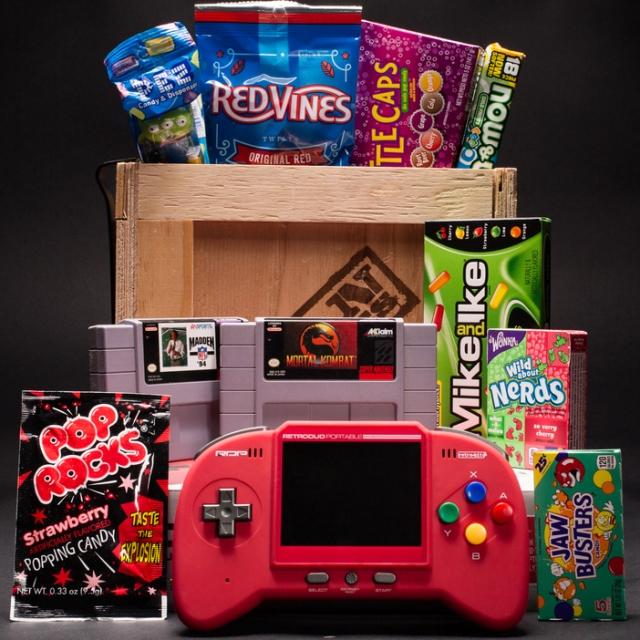 Man Crates Super Retro Gamer Crate